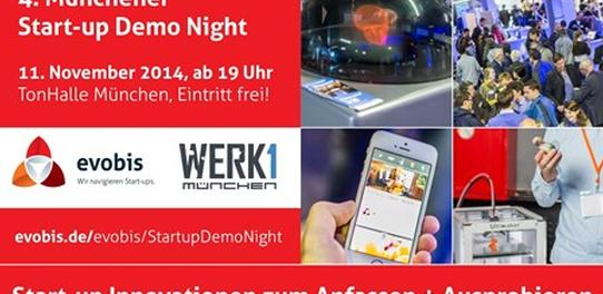 done.by auf der Münchner Start-up Demo Night Bild